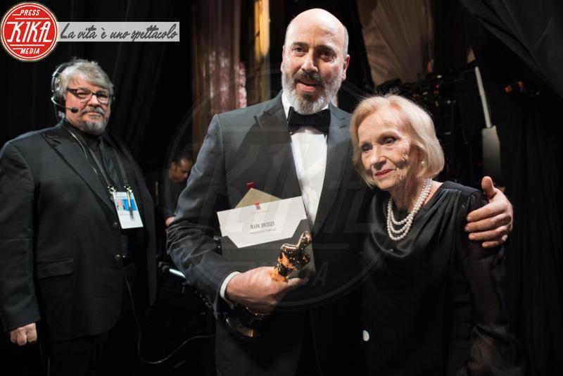 Mark Bridges, Eva Marie Saint - Los Angeles - 04-03-2018 - Oscar 2018: ecco chi ha vinto l'ambitissima moto d'acqua
