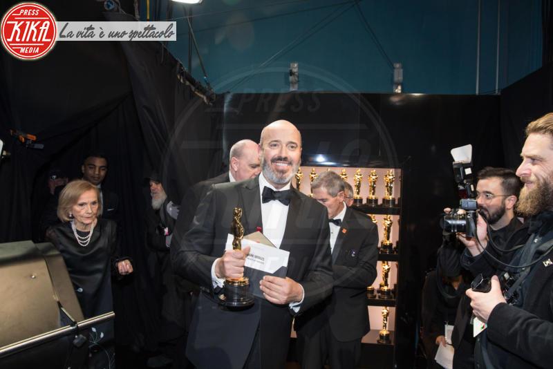 Mark Bridges - Los Angeles - 04-03-2018 - Oscar 2018: ecco chi ha vinto l'ambitissima moto d'acqua