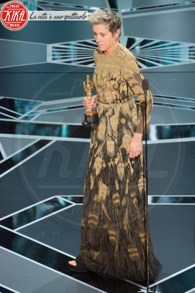 Frances Mcdormand - Hollywood - 04-03-2018 - Oscar 2018: Frances McDormand salva una cerimonia blanda
