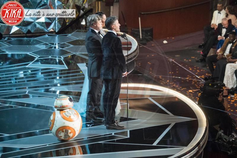BB-8, Mark Hamill - Los Angeles - 04-03-2018 - Oscar 2018: Frances McDormand salva una cerimonia blanda