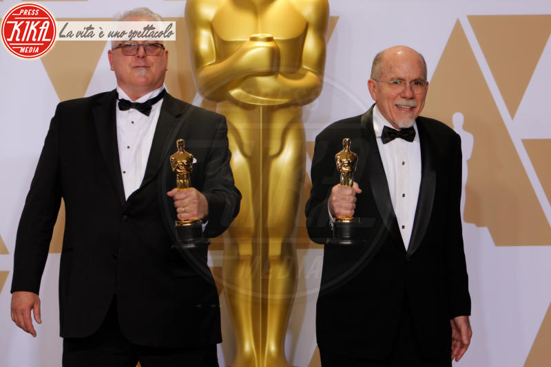 Alex Gibson, Oscar 2018, Richard King - Hollywood - 04-03-2018 - Oscar 2018, ai 90esimi Academy regna l'equilibrio