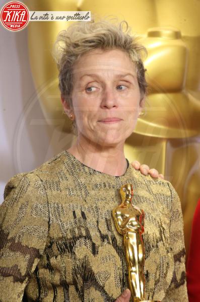 Frances Mcdormand - Hollywood - 04-03-2018 - Oscar, rubata e ritrovata la statuetta di Frances McDormand