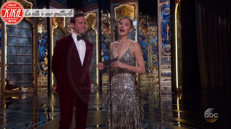 Gal Gadot, Armie Hammer - 05-03-2018 - Oscar 2018: Frances McDormand salva una cerimonia blanda