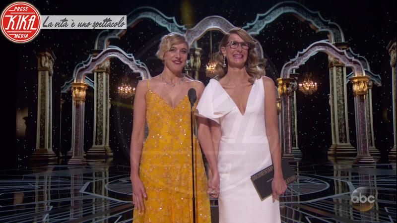 Greta Gerwig, Laura Dern - 05-03-2018 - Oscar 2018: Frances McDormand salva una cerimonia blanda