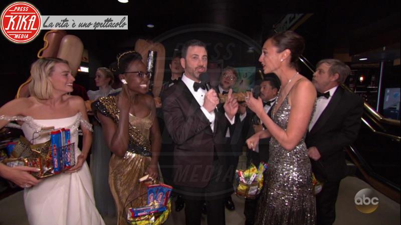 Lupita Nyong'o, Margot Robbie, Gal Gadot, Guillermo del Toro, Jimmy Kimmel, Mark Hamill - 05-03-2018 - Oscar 2018: Frances McDormand salva una cerimonia blanda
