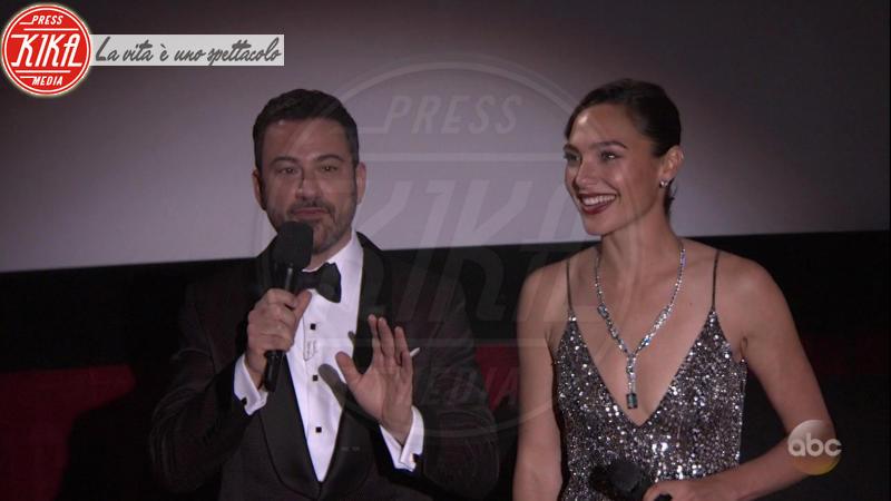 Gal Gadot, Jimmy Kimmel - 05-03-2018 - Oscar 2018: Frances McDormand salva una cerimonia blanda