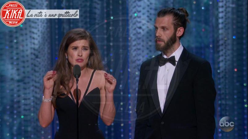 Chris Overton, Rachel Shenton - 05-03-2018 - Oscar 2018: Frances McDormand salva una cerimonia blanda