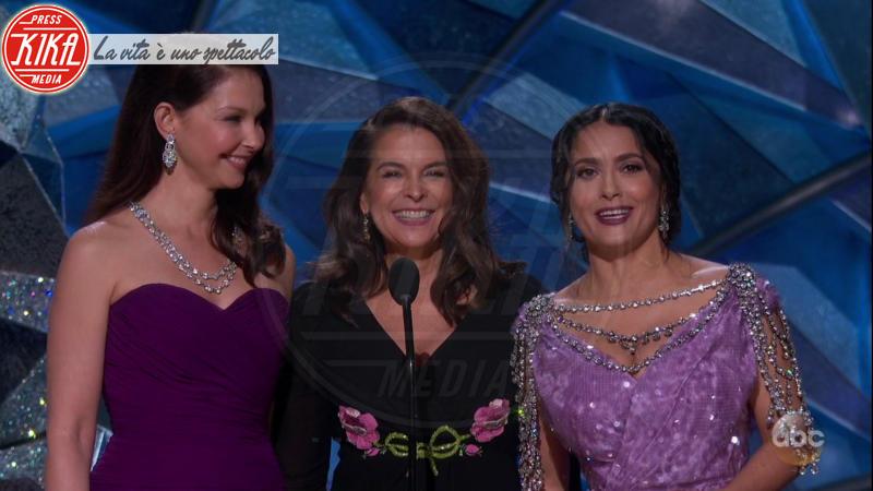 Annabella Sciorra, Ashley Judd, Salma Hayek - 05-03-2018 - Oscar 2018: Frances McDormand salva una cerimonia blanda