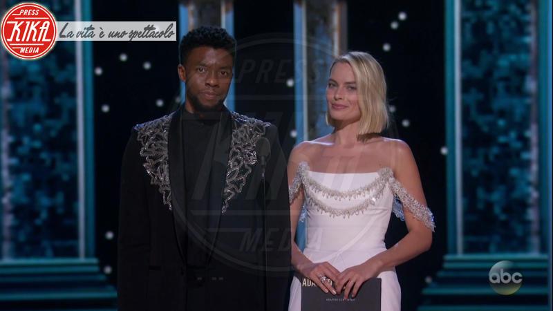 CHADWICK BOSEMAN, Margot Robbie - 05-03-2018 - Oscar 2018: Frances McDormand salva una cerimonia blanda