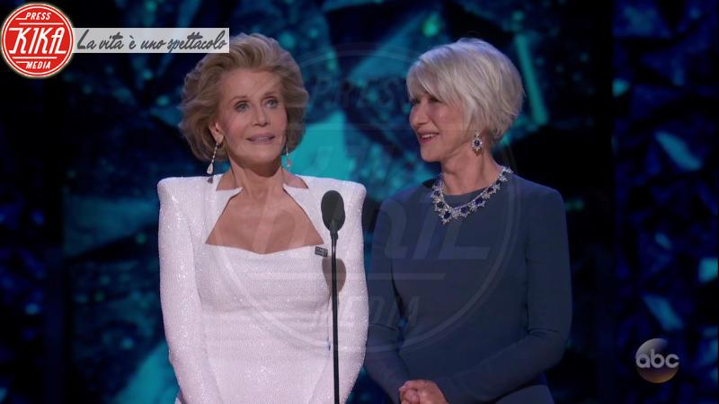 Jane Fonda, Helen Mirren - 05-03-2018 - Oscar 2018: Frances McDormand salva una cerimonia blanda
