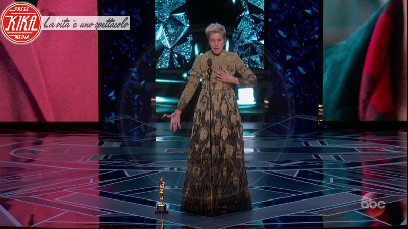 Frances Mcdormand - 05-03-2018 - Oscar 2018: Frances McDormand salva una cerimonia blanda