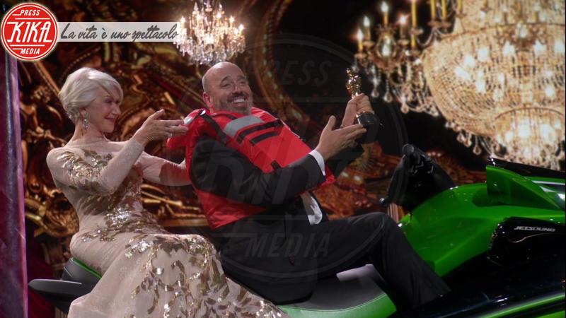 Mark Bridges, Helen Mirren - 05-03-2018 - Oscar 2018: ecco chi ha vinto l'ambitissima moto d'acqua