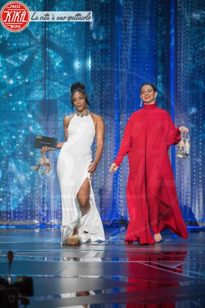 Tiffany Haddish, Maya Rudolph - Hollywood - 04-03-2018 - Oscar 2018: Rita Moreno ricicla il vestito... e non è la sola!