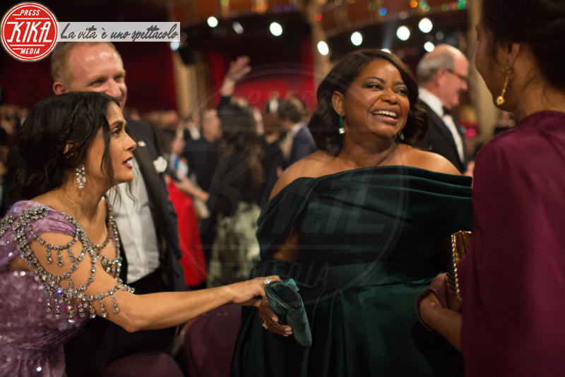 Octavia Spencer, Salma Hayek - Los Angeles - 04-03-2018 - Oscar 2018: ecco tutto quello che è successo
