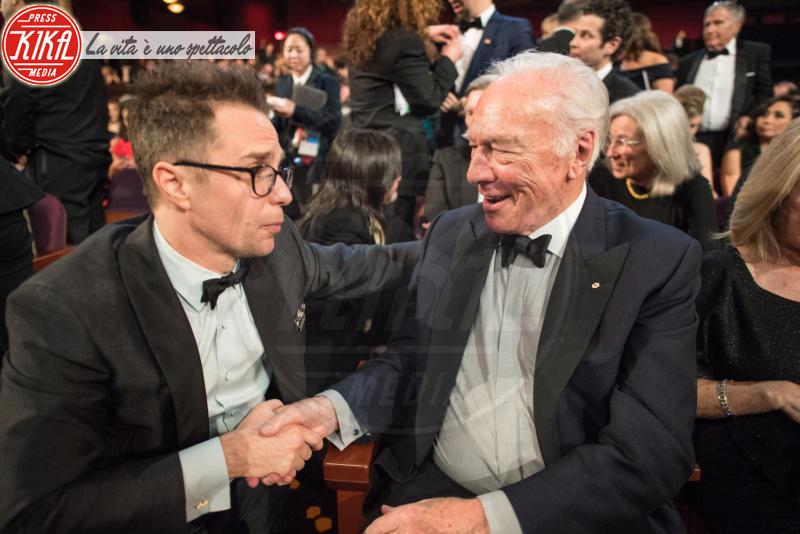 Christopher Plummer, Sam Rockwell - Los Angeles - 04-03-2018 - Oscar 2018: ecco tutto quello che è successo