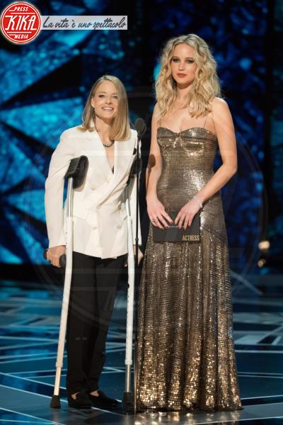 Jennifer Lawrence, Jodie Foster - Los Angeles - 04-03-2018 - Oscar 2018: ecco tutto quello che è successo