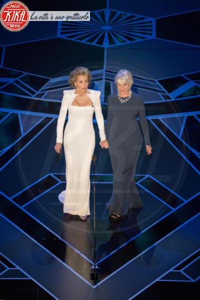 Jane Fonda, Helen Mirren - Los Angeles - 04-03-2018 - Oscar 2018: ecco tutto quello che è successo