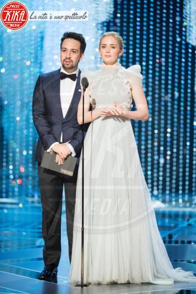 Lin-Manuel Miranda, Emily Blunt - Los Angeles - 04-03-2018 - Oscar 2018: ecco tutto quello che è successo