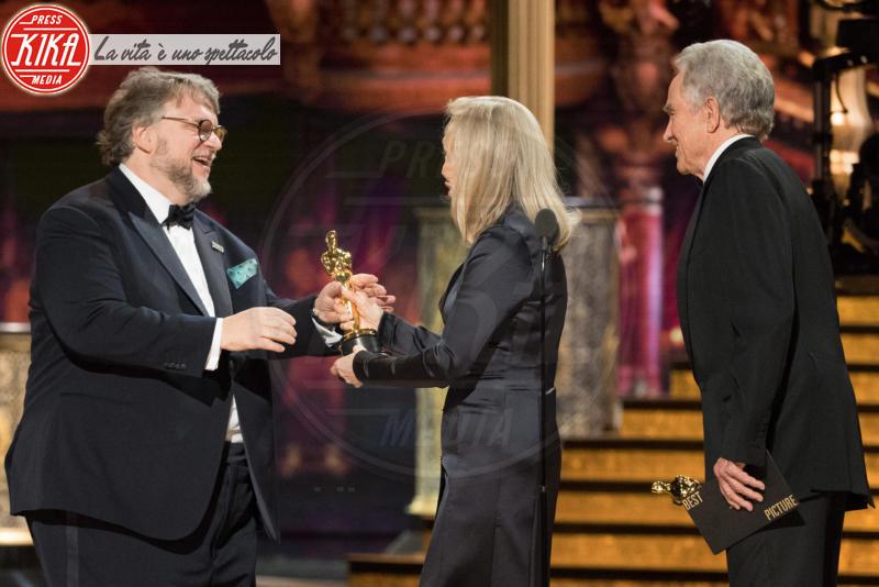 Guillermo del Toro, Warren Beatty, Faye Dunaway - Los Angeles - 04-03-2018 - Oscar 2018: ecco tutto quello che è successo