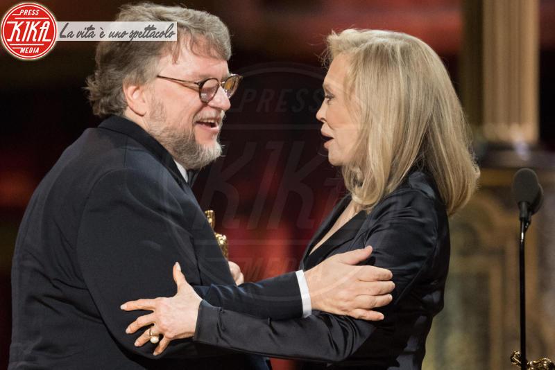 Guillermo del Toro, Faye Dunaway - Los Angeles - 04-03-2018 - Oscar 2018: ecco tutto quello che è successo