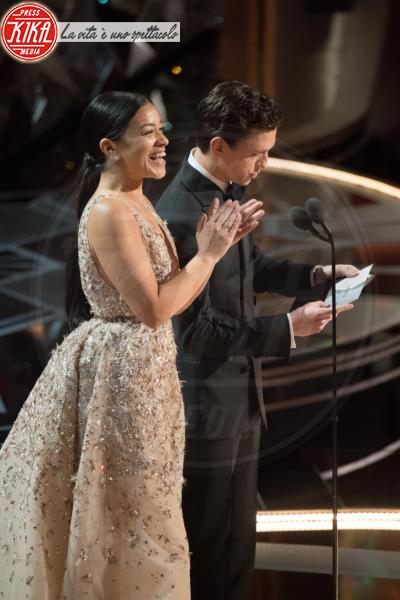 Tom Holland, Gina Rodriguez - Los Angeles - 04-03-2018 - Oscar 2018: ecco tutto quello che è successo