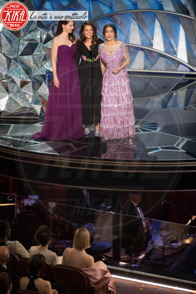 Annabella Sciorra, Ashley Judd, Salma Hayek - Los Angeles - 04-03-2018 - Oscar 2018: ecco tutto quello che è successo