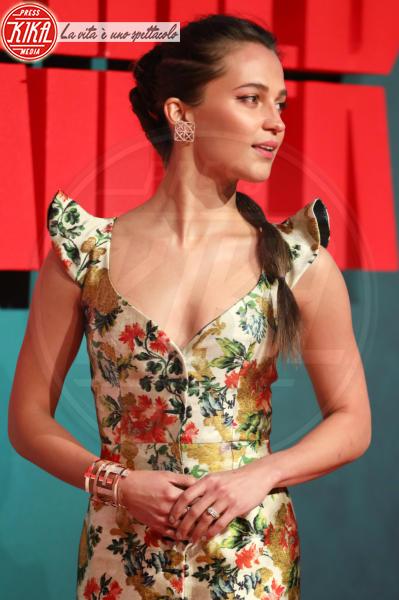 Alicia Vikander - Londra - 06-03-2018 - Alicia Vikander, Lara Croft è un'eroina tutta colorata