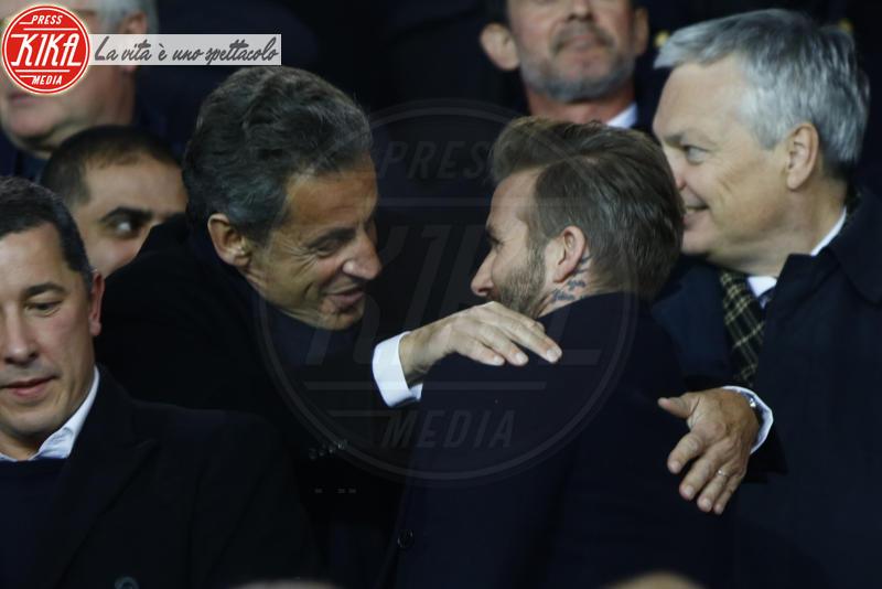 Nicolas Sarkozy, David Beckham - Parigi - 06-03-2018 - Bella Hadid manda nel 'pallone' David Beckham