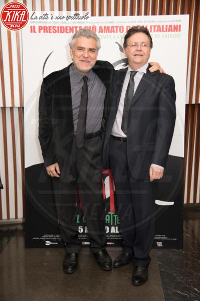 Graziano Diana, Giancarlo De Cataldo - Roma - 07-03-2018 - Pertini il combattente, Napolitano omaggia il Presidente rock