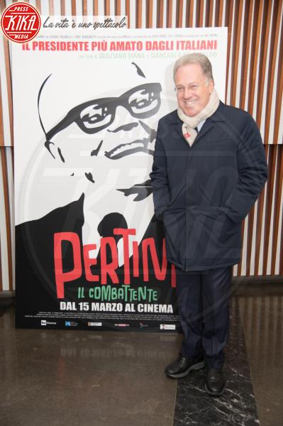 Marcello Sorgi - Roma - 07-03-2018 - Pertini il combattente, Napolitano omaggia il Presidente rock