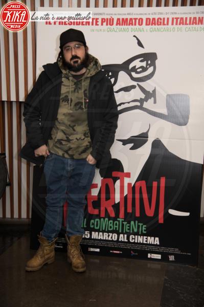 Piotta - Roma - 07-03-2018 - Pertini il combattente, Napolitano omaggia il Presidente rock
