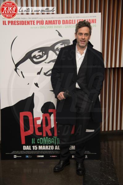 Massimo Poggi - Roma - 07-03-2018 - Pertini il combattente, Napolitano omaggia il Presidente rock
