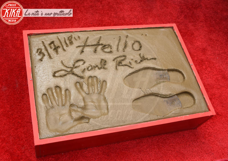 Footprints - Hollywood - 07-03-2018 - Lionel Richie affonda le mani nella leggenda