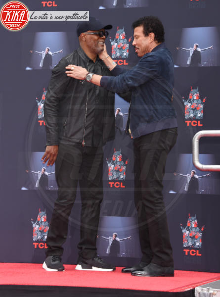 Lionel Richie, Samuel L. Jackson - Hollywood - 07-03-2018 - Lionel Richie affonda le mani nella leggenda