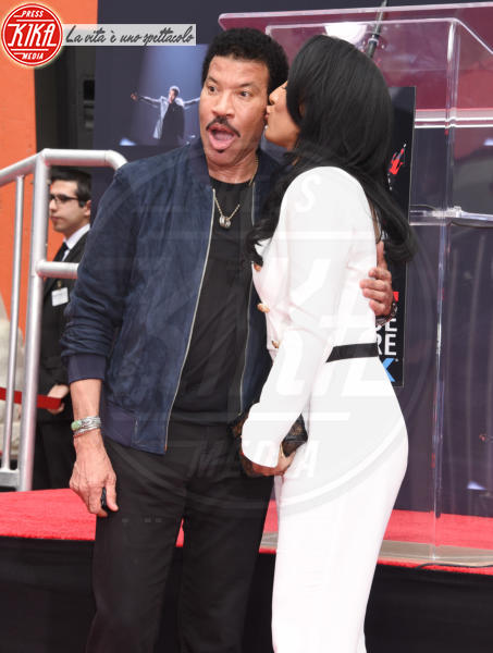 Lisa Parigi, Lionel Richie - Hollywood - 07-03-2018 - Lionel Richie affonda le mani nella leggenda
