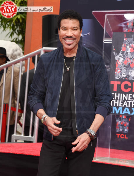 Lionel Richie - Hollywood - 07-03-2018 - Lionel Richie affonda le mani nella leggenda