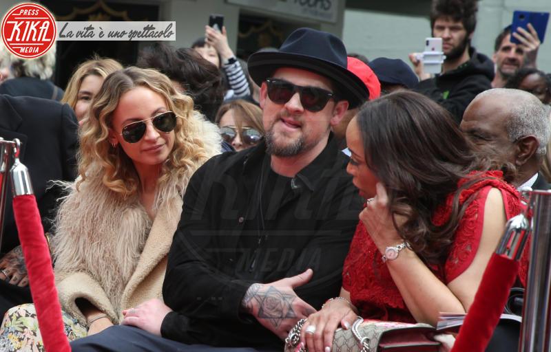 Brenda Harvey-Richie, Benji Madden, Nicole Richie - Hollywood - 07-03-2018 - Lionel Richie affonda le mani nella leggenda