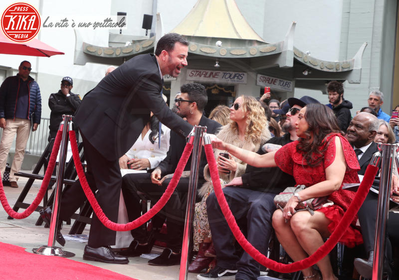 Brenda Harvey-Richie, Jimmy Kimmel, Nicole Richie - Hollywood - 07-03-2018 - Lionel Richie affonda le mani nella leggenda