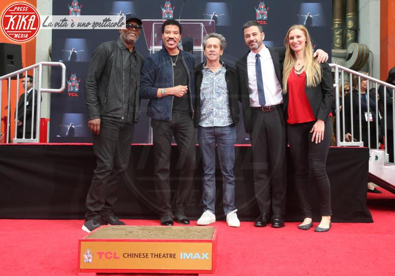 Alwyn Hight Kushner, Lionel Richie, Brian Grazer, Jimmy Kimmel, Samuel L. Jackson - Hollywood - 07-03-2018 - Lionel Richie affonda le mani nella leggenda
