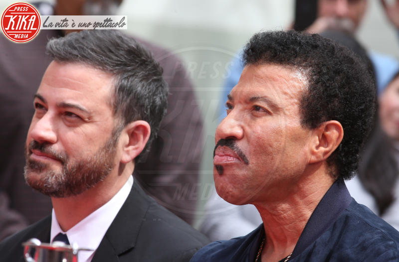 Lionel Richie, Jimmy Kimmel - Hollywood - 07-03-2018 - Lionel Richie affonda le mani nella leggenda