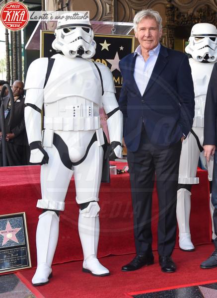 Stormtroopers, Harrison Ford - Hollywood - 08-03-2018 - Mark Hamill, la stella di Skywalker brilla sulla Walk of Fame