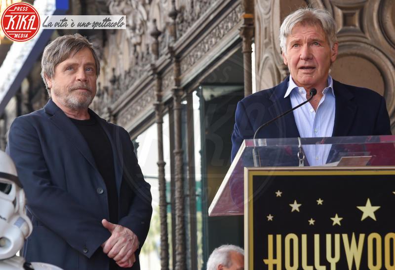 Mark Hamill, Harrison Ford - Hollywood - 08-03-2018 - Mark Hamill, la stella di Skywalker brilla sulla Walk of Fame
