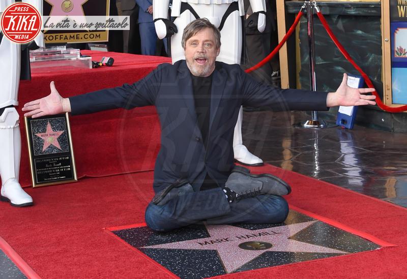 Mark Hamill - Hollywood - 08-03-2018 - Mark Hamill, la stella di Skywalker brilla sulla Walk of Fame