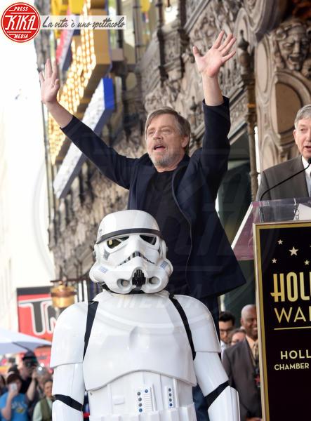 Stormtroopers, Mark Hamill - Hollywood - 08-03-2018 - Mark Hamill, la stella di Skywalker brilla sulla Walk of Fame
