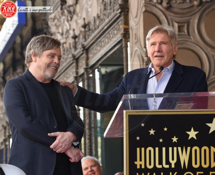 George Lucas, Mark Hamill - Hollywood - 08-03-2018 - Mark Hamill, la stella di Skywalker brilla sulla Walk of Fame
