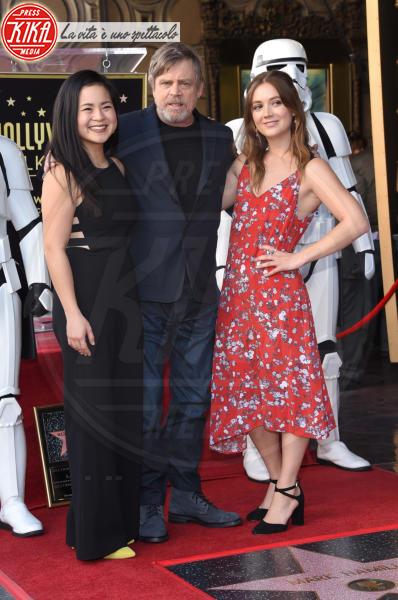 Kelly Marie Tran, Billie Lourd, Mark Hamill - Hollywood - 08-03-2018 - Mark Hamill, la stella di Skywalker brilla sulla Walk of Fame