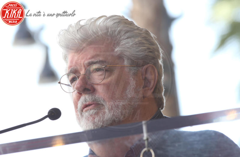 George Lucas - Hollywood - 08-03-2018 - Mark Hamill, la stella di Skywalker brilla sulla Walk of Fame