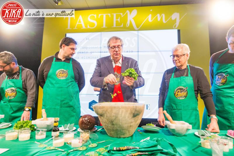 Pesto - Firenze - 11-03-2018 - Taste Firenze, la gara per il miglior pesto al mortaio