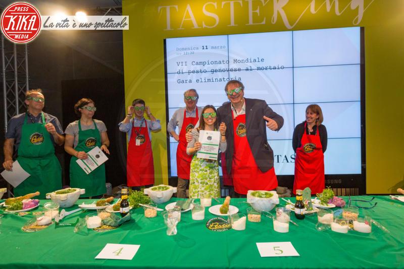 Giada Fabiani, Pesto - Firenze - 11-03-2018 - Taste Firenze, la gara per il miglior pesto al mortaio