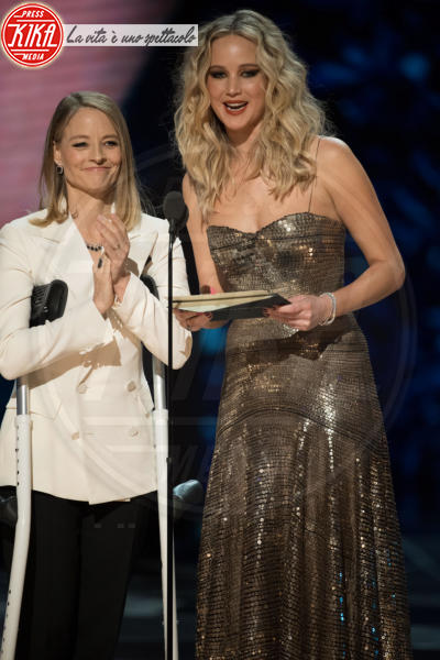 Jennifer Lawrence, Jodie Foster - Hollywood - 05-03-2018 - Oscar 2018: Frances McDormand salva una cerimonia blanda